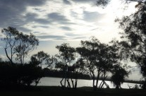 Sunset on the Maroochy River